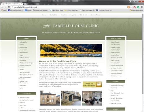 Farfield House Clinic, Keighley