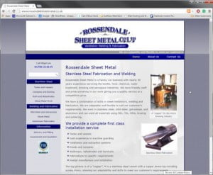 Rossendale Sheet Metal Co Ltd Waterfoot