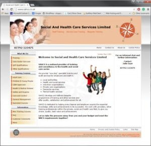 Social and Health Care Services Limited