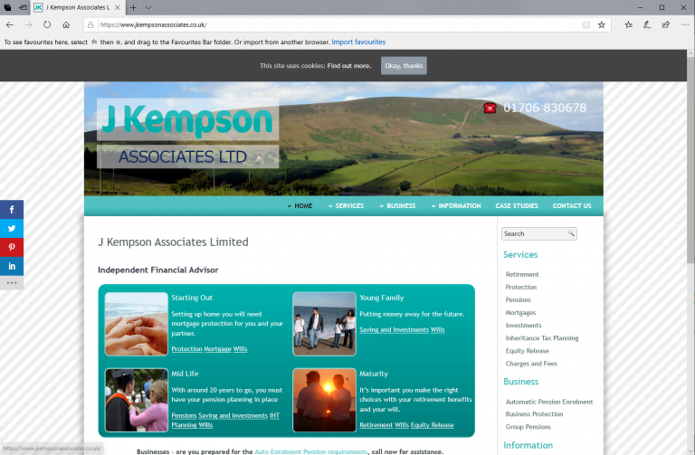 J Kempson Associates Limited